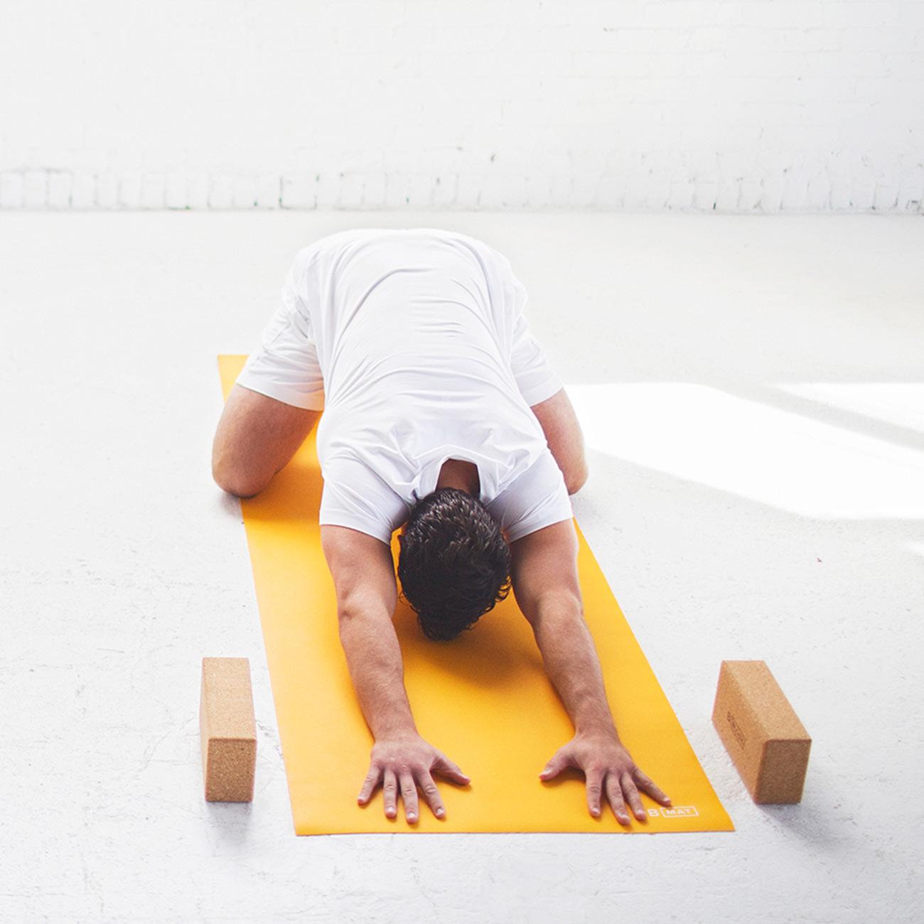 Yogamatte B Mat Strong Saffron B Mat Strong B Yoga