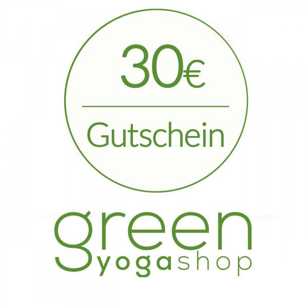 Geschenkgutschein - €30
