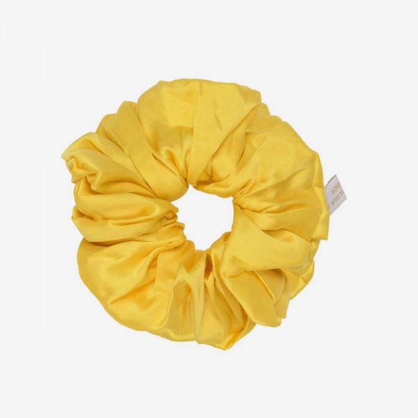 Haargummi Scrunchie Silk - Saffron