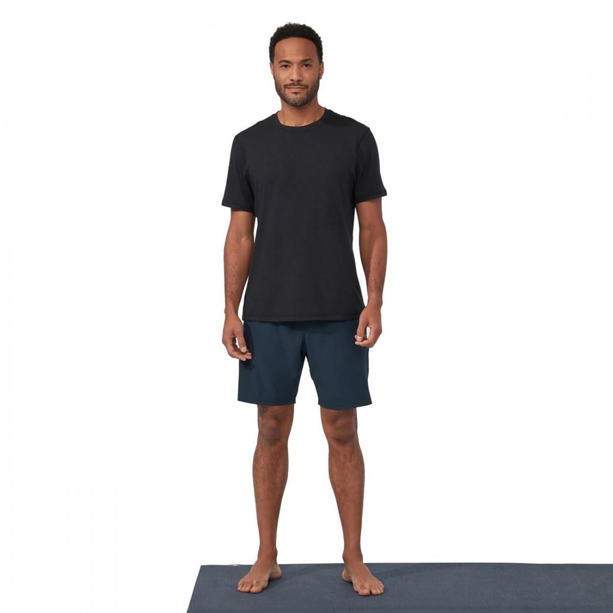 performance shorts - dark sapphire | yogahosen | herren
