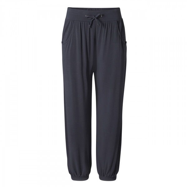 Relaxed Long Pants von Curare - Night Blue from greenyogashop