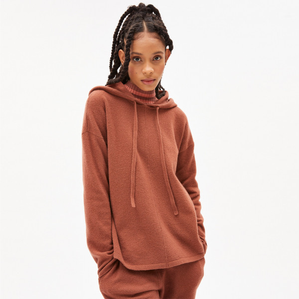 Pullover Brianaa Recycled Wool - Copper Glow Melange