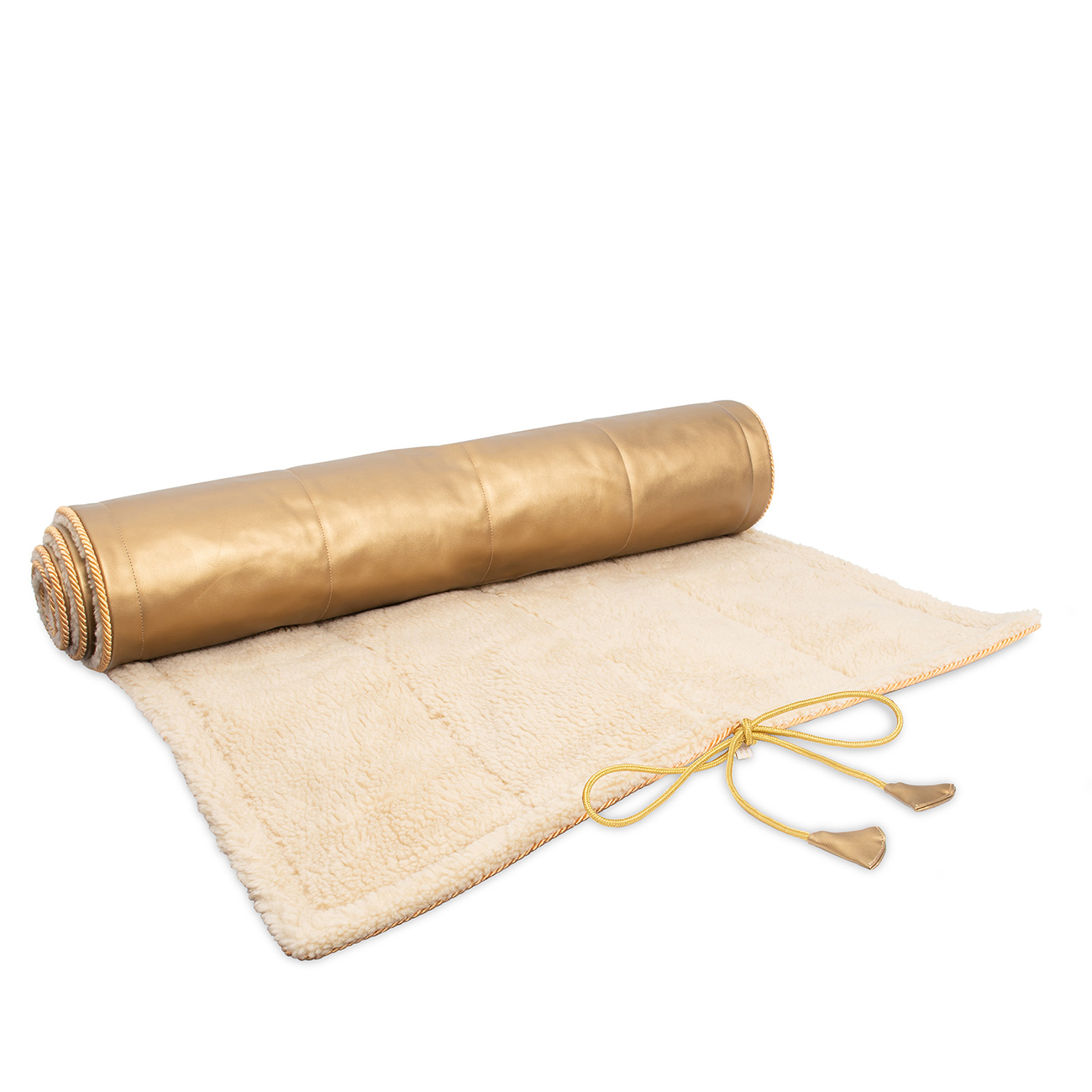Yoga Rug Mat Saffron Schurwollmatten Weitere