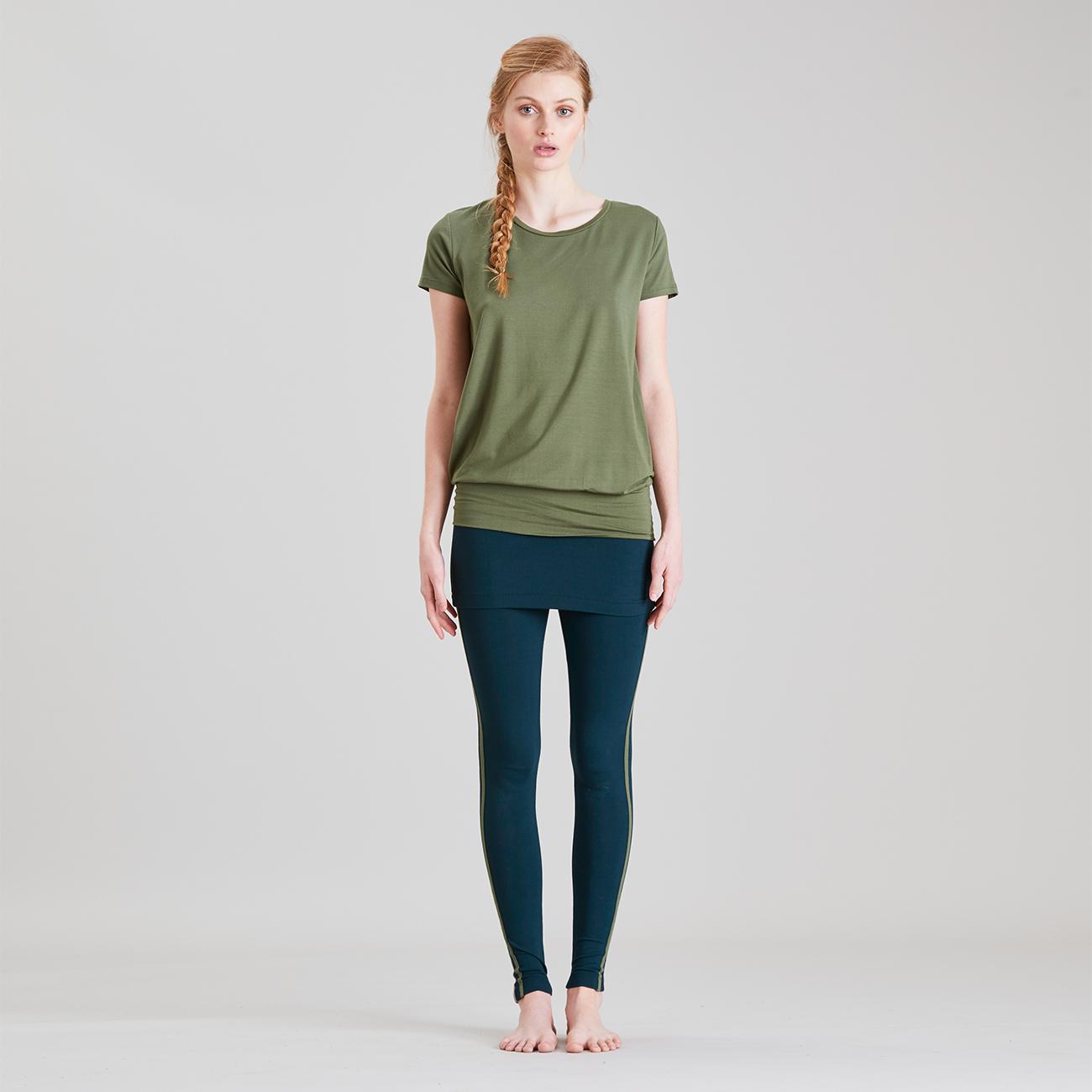 Smooth You Leggings - Forest | Yoga Leggings | Damen ...
