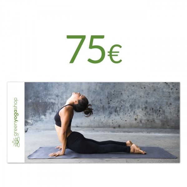 Geschenkgutschein - 75 €