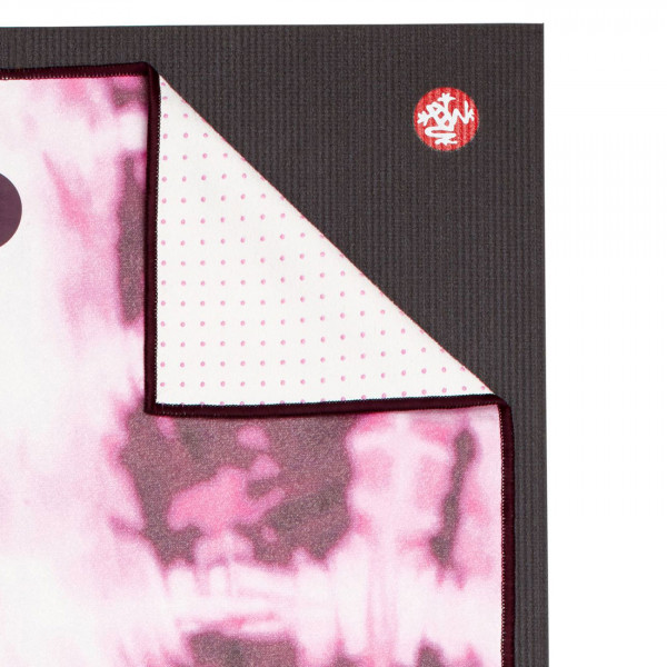 Green Pink Staffordshire Dogs Yoga Mat Towel