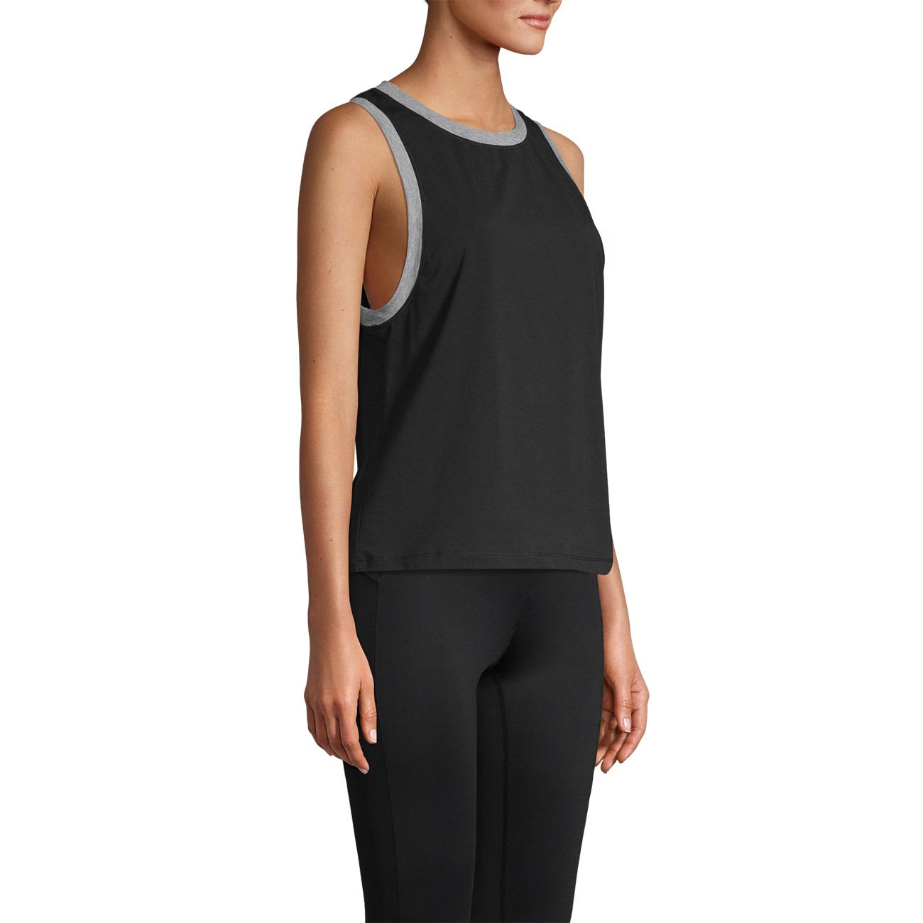 Shirts Tank Free By And Yoga Flex Tops Casall Black w44B05q